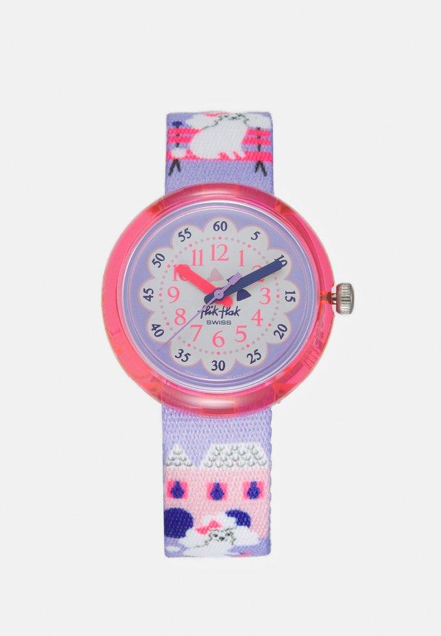MISS POODLE UNISEX - Horloge - purple