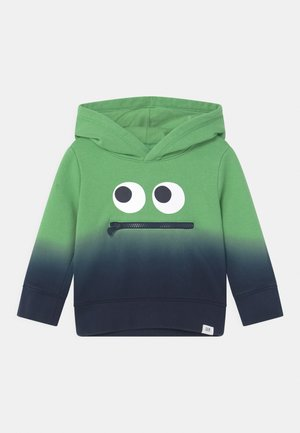 TODDLER BOY DIPE DYE HOOD - Sweater - carmel green