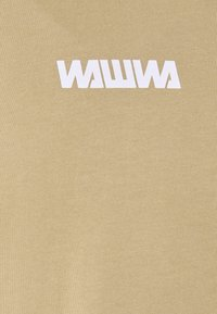 WAWWA - UNISEX SQUARE LOGO  - Bluzka z długim rękawem - beige - 2