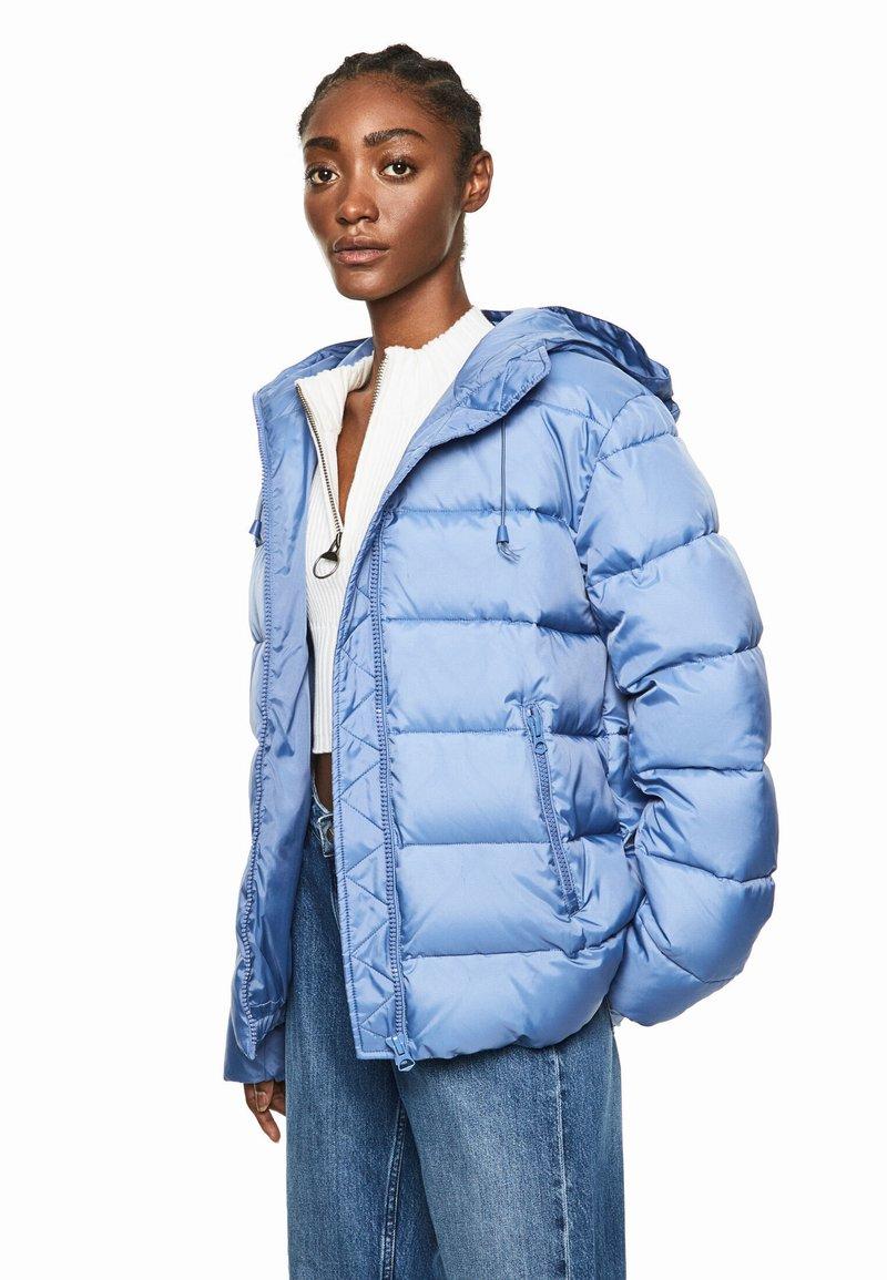 Pepe Jeans - DUA LIPA X PEPE JEANS - Winter jacket - fade blau