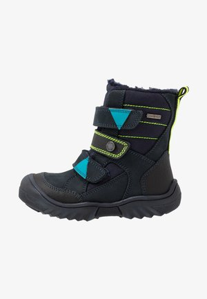 GTX - Bottes de neige - blu scuro/nero