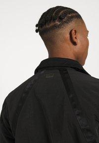 G-Star - UTILITY HB TAPE TRENCH - Trenchcoat - black - 3