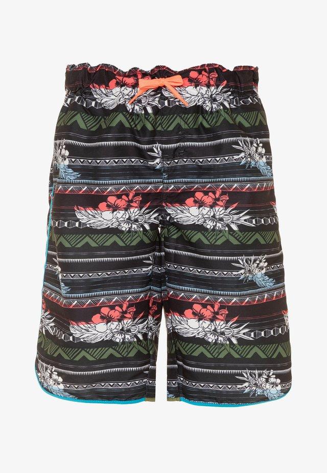 NKMZAMANS SURF - Swimming shorts - black