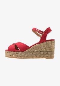 Castañer - BLAUDELL - Sandály na vysokém podpatku - rojo - 1