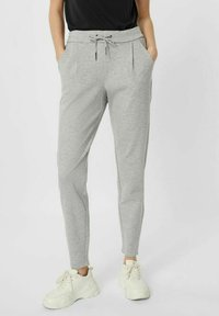 Vero Moda - VMEVA  - Trousers - light grey melange - 0