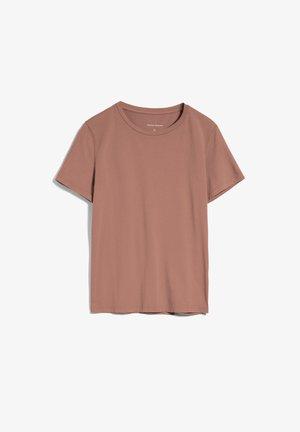 Basic T-shirt - natural dusty rose