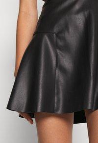ONLY - ONLVIBE SKATER SKIRT - A-line skirt - black - 4
