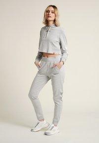 Hummel - Hættetrøjer - grey melange - 1