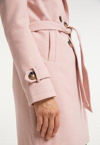 usha - Trenchcoat - rosa - 3