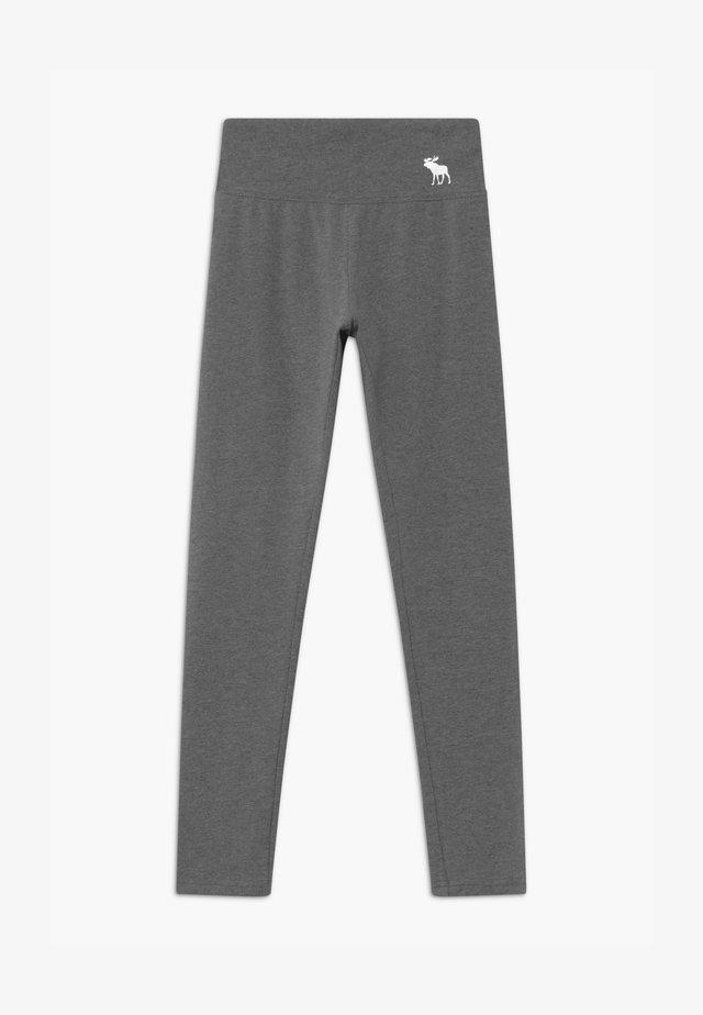 Leggings - Trousers - light grey