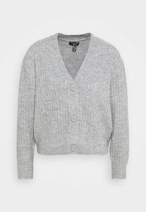 CARDIGAN - Kardigan - mid grey