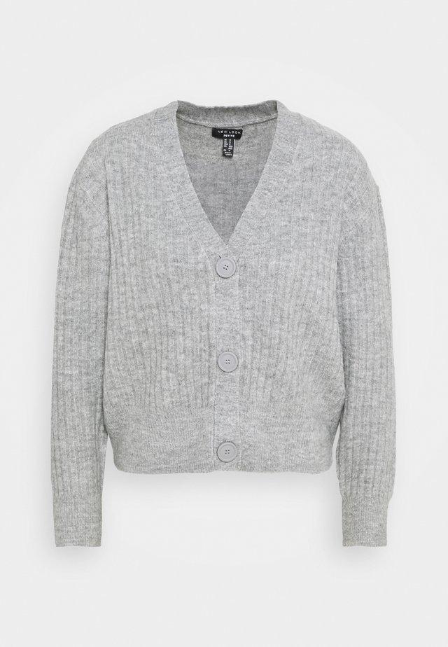 CARDIGAN - Kofta - mid grey