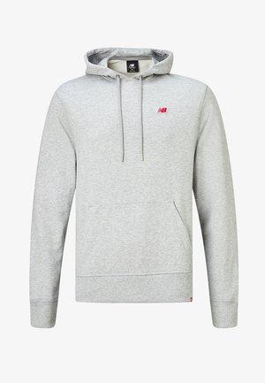 Hoodie - athletic grey