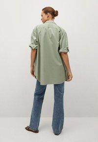 Mango - Button-down blouse - groen - 2