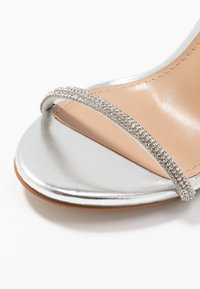 Steve Madden - FESTIVE - High heeled sandals - silver - 2