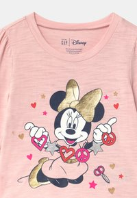 GAP - TODDLER GIRL MINNIE MOUSE  - Maglietta a manica lunga - minimal pink - 2