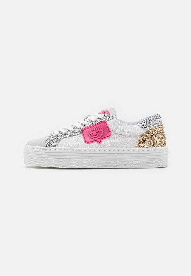 NAME PATCH - Sneakers laag - white