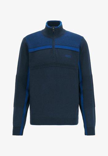 ZEMI - Stickad tröja - dark blue