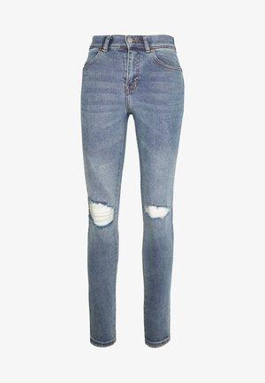 LEXY - Jeans Skinny Fit - westcoast blue ripped