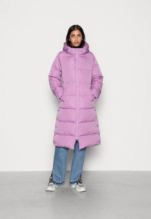 Down coat - sheer lilac