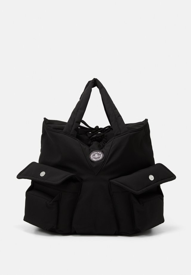 CLINT NEW SHOPPER UNISEX - Shopping bag - black