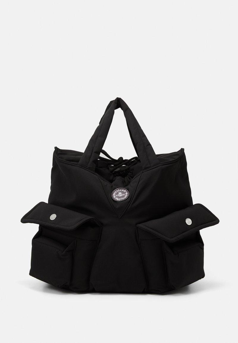 Vivienne Westwood - CLINT NEW SHOPPER UNISEX - Tote bag - black