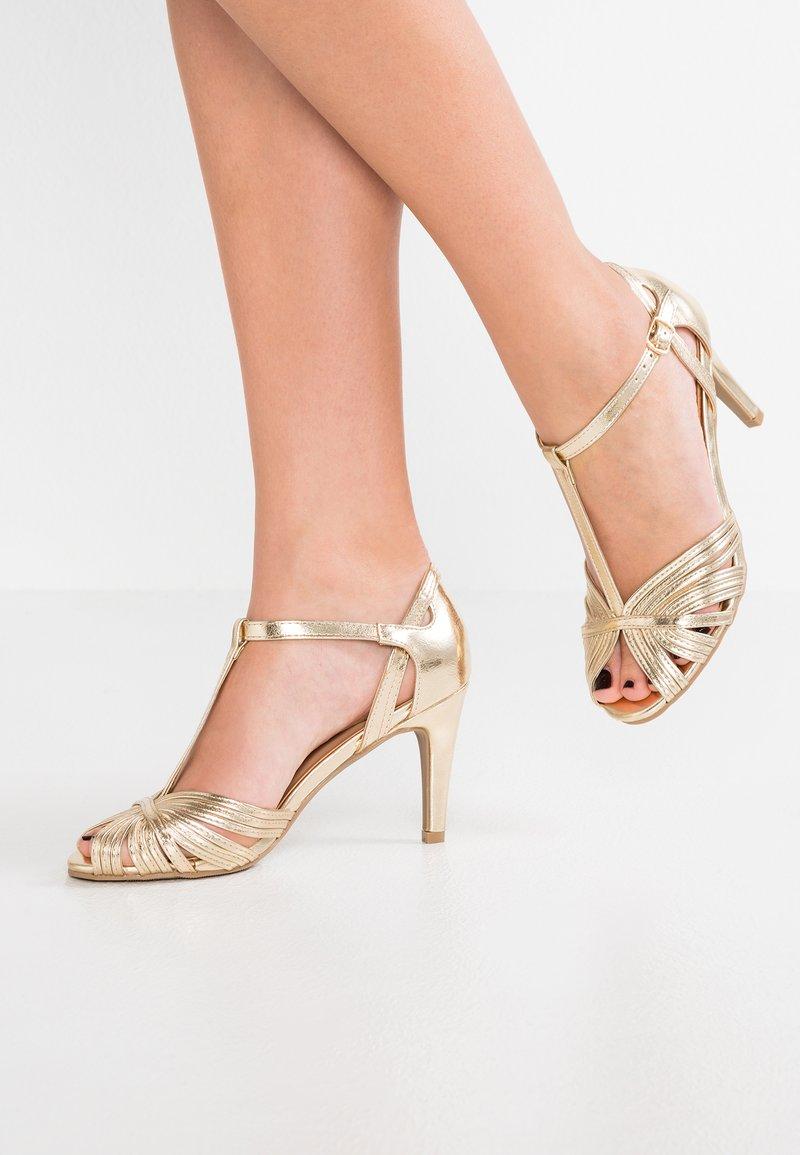 Anna Field - Højhælede sandaletter / Højhælede sandaler - gold