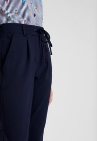 TOM TAILOR - PANTS ANKLE - Trousers - night sky blue - 3