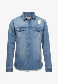 Redefined Rebel - JACKSON JACKET - Koszula - light blue - 3