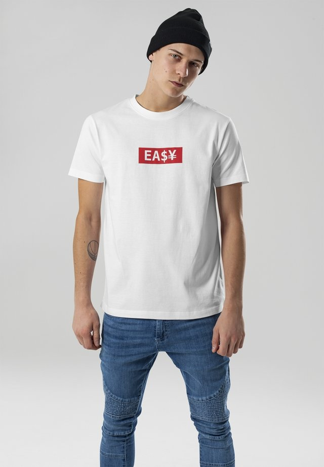 EASY BOX - Print T-shirt - white