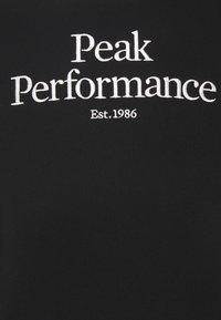 Peak Performance - ORIGINAL CREW - Bluza - black - 2