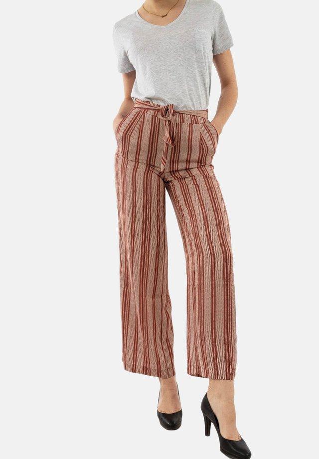 Spodnie materiałowe - rouge
