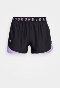 Under Armour - PLAY UP 3.0 GEO SHORT - Sports shorts - black - 3