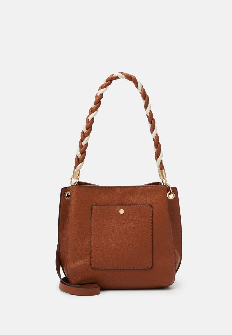 PARFOIS - SAC TANGLE - Handbag - camel