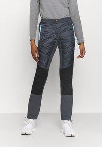 Campagnolo - WOMAN PANT - Outdoorové kalhoty - titanio - 0