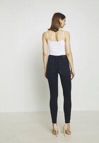 Lee - SCARLETT HIGH - Jeansy Skinny Fit - worn ebony - 3