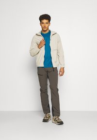 The North Face - REAXION BOX TEE - Print T-shirt - moroccan blue - 1