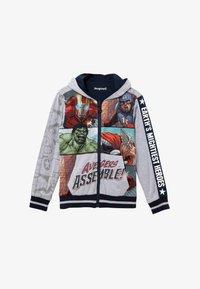 Desigual - MARVEL - Zip-up sweatshirt - black - 0