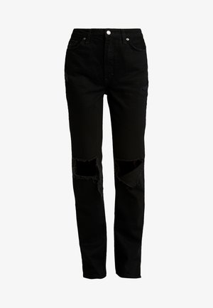 MY OWN LANE - Jeans straight leg - black