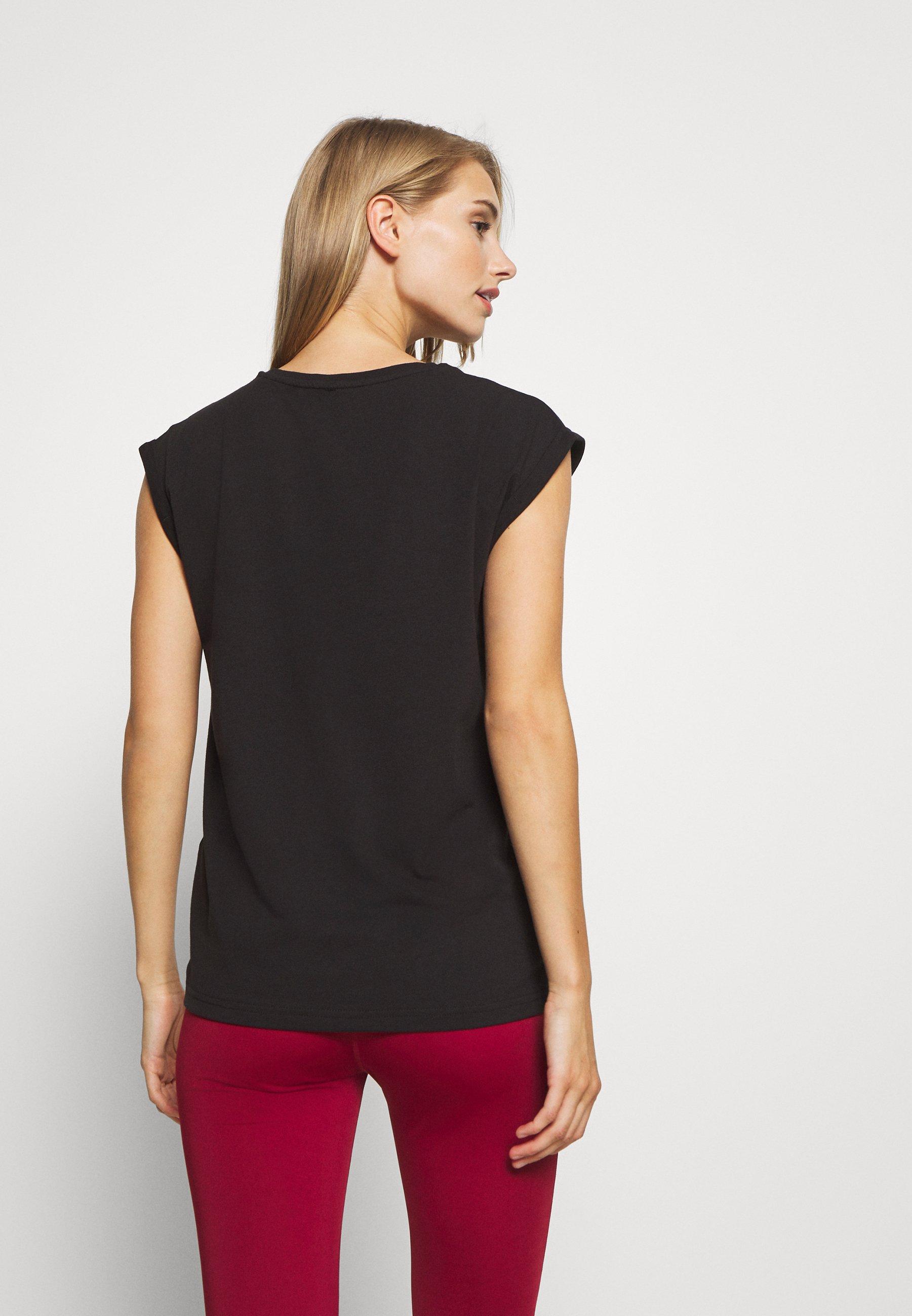 Even&Odd active Sports shirt - black xXE1h