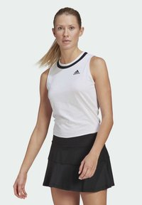 adidas Performance - CLUB KNOT TANK TENNIS AEROREADY PRIMEGREEN REGULAR TOP - Top - white - 0