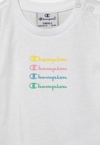 Champion - CHAMPION X ZALANDO SUMMER SET UNISEX - Survêtement - white - 3