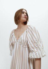 Uterqüe - Maxi dress - multi coloured - 4