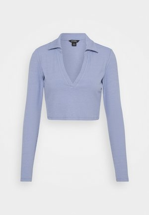 FREDDIE TOP - Long sleeved top - blue