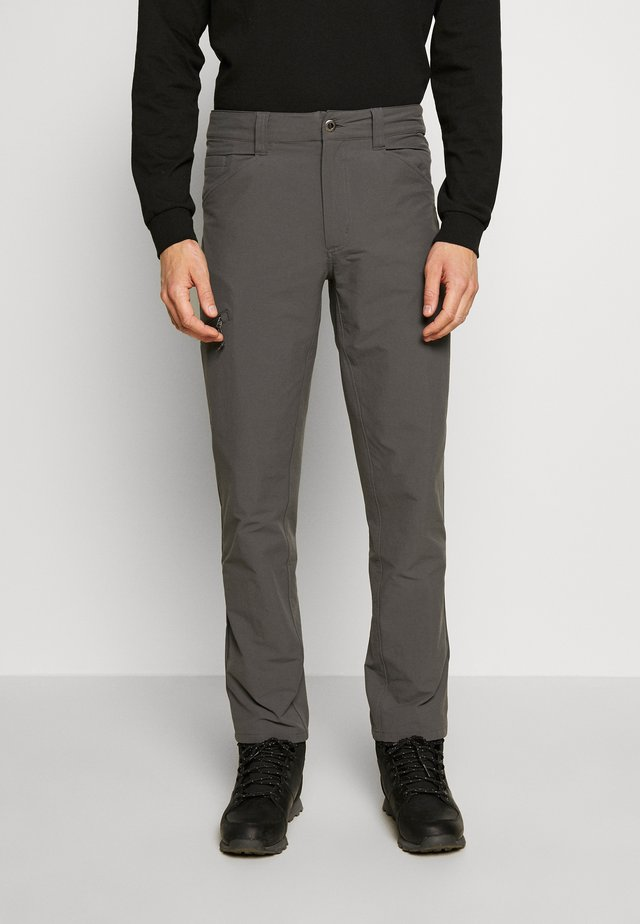 QUANDARY PANTS - Kangashousut - forge grey