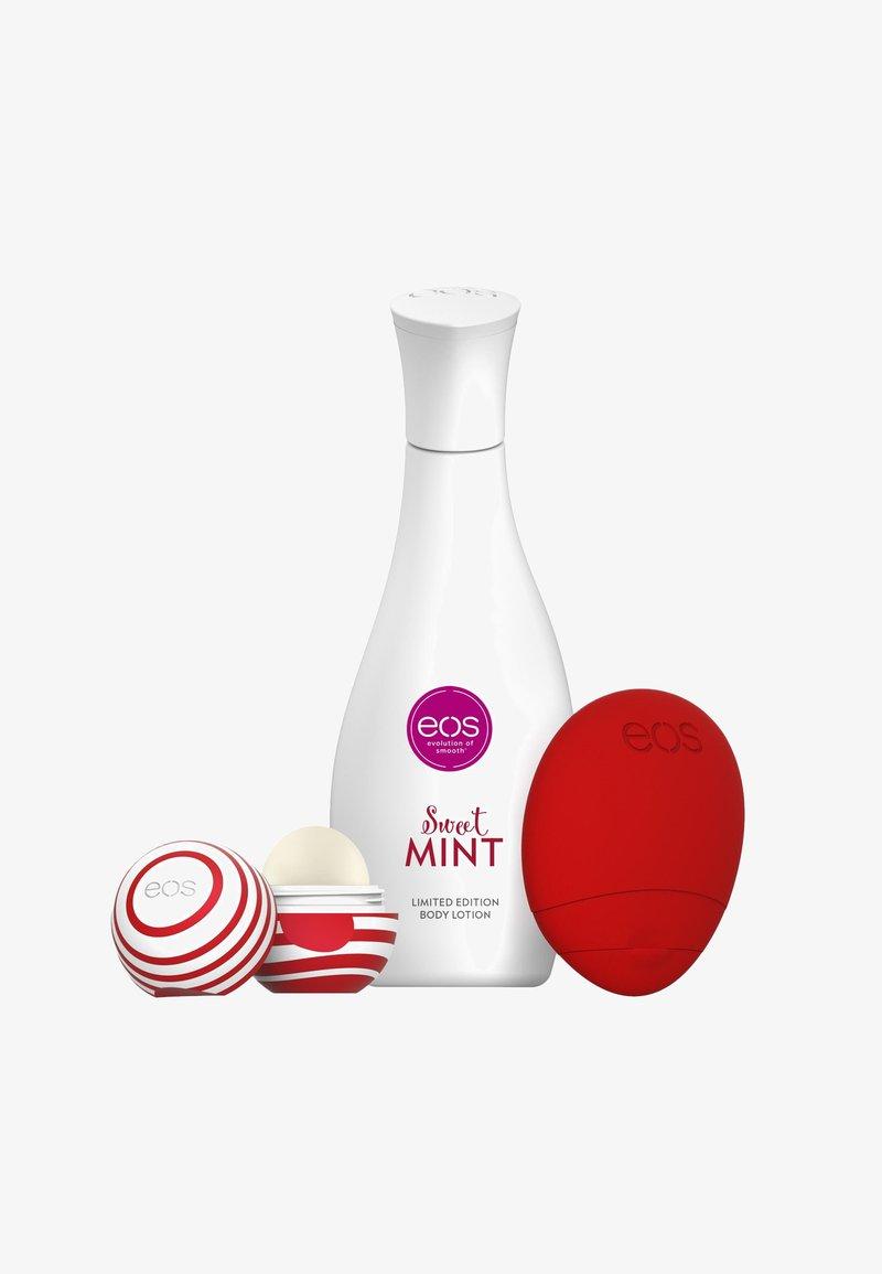 eos - TRIO SET HAND LIP BODY - RED EDITION - Bath and body set - -