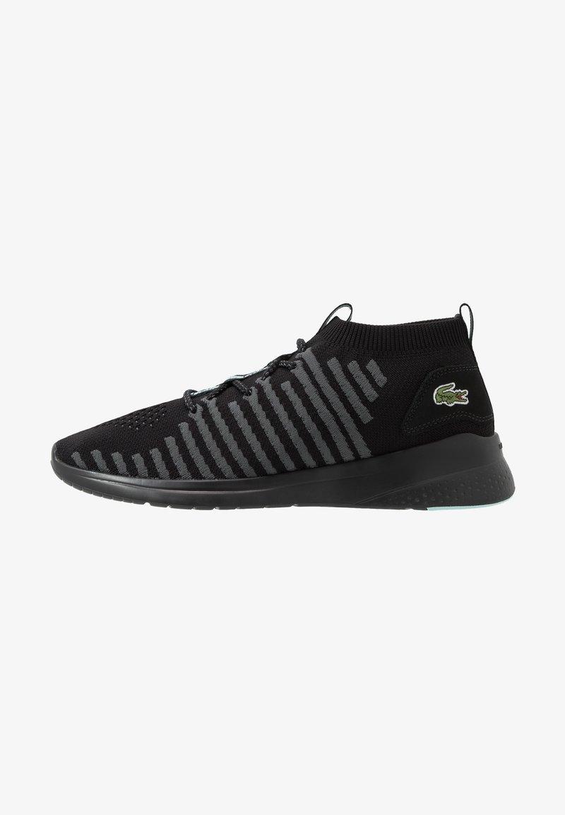 Lacoste - FIT FLEX - Sneakersy niskie - black/light green