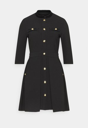 RANELINA - Shirt dress - noir