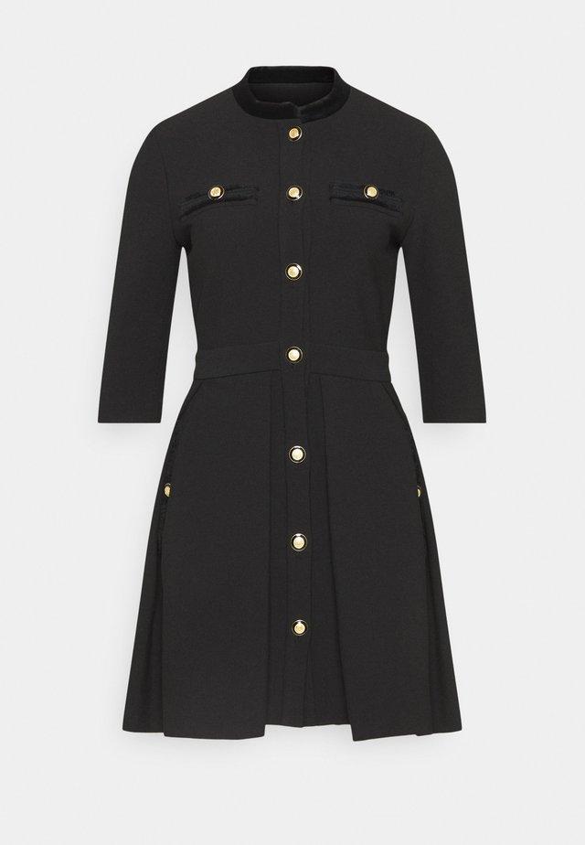 RANELINA - Sukienka koszulowa - noir