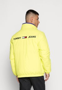 Tommy Jeans - REVERSIBLE PUFFER JACKET - Talvejope - court blue/multi - 3